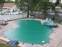 Anchor Pool Cover #005 by Indian Summer Pool and Spa
