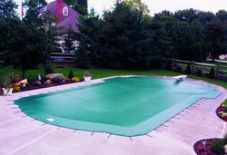 Anchor Pool Cover #007 by Indian Summer Pool and Spa
