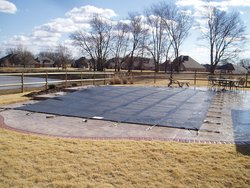 Anchor Pool Cover #008 by Indian Summer Pool and Spa