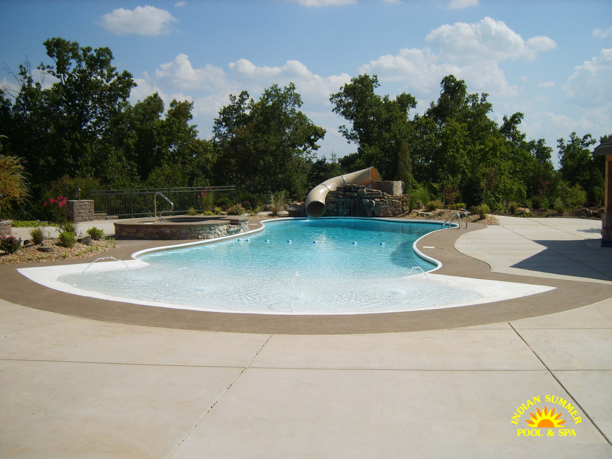 Hybrid Pools Springfield Mo Indian Summer Pool And Spa