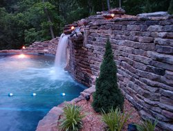 Waterfall #007 by Indian Summer Pool and Spa